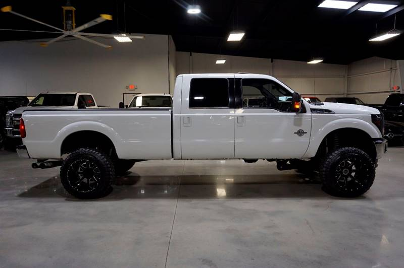 2011 Ford F-250 Super Duty 4x4 Lariat 4dr Crew Cab 8 ft. LB Pickup - Houston TX