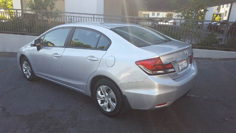 2013 Honda Civic LX 4dr Sedan 5A - Sunnyvale CA