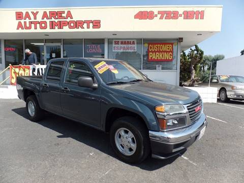 2006 GMC Canyon for sale in Sunnyvale, CA