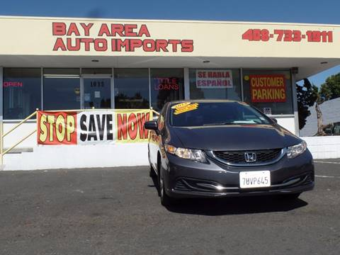 2014 Honda Civic for sale in Sunnyvale, CA