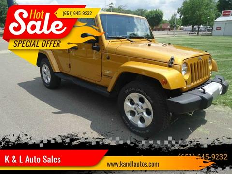 2014 Jeep Wrangler Unlimited for sale in Saint Paul, MN