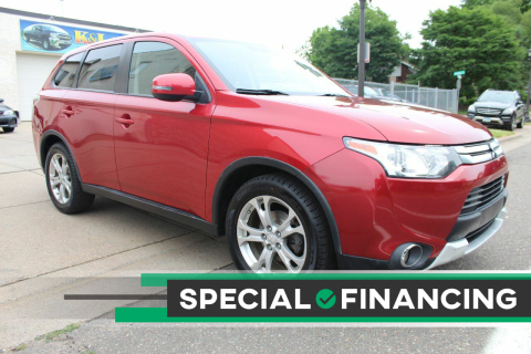 2015 Mitsubishi Outlander for sale at K & L Auto Sales in Saint Paul MN