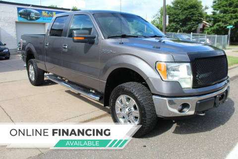 2011 Ford F-150 for sale at K & L Auto Sales in Saint Paul MN