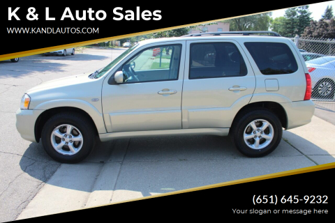 2005 Mazda Tribute for sale at K & L Auto Sales in Saint Paul MN