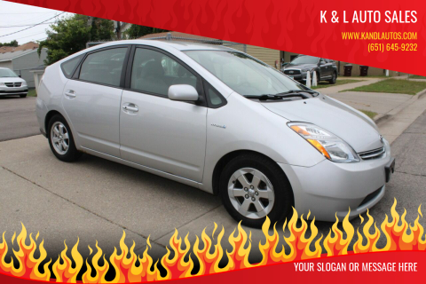 2006 Toyota Prius for sale at K & L Auto Sales in Saint Paul MN