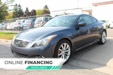 2013 Infiniti G37 Coupe for sale at K & L Auto Sales in Saint Paul MN