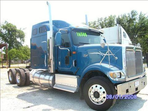 2001 International 9900i for sale at JAG TRUCK SALES in Houston TX