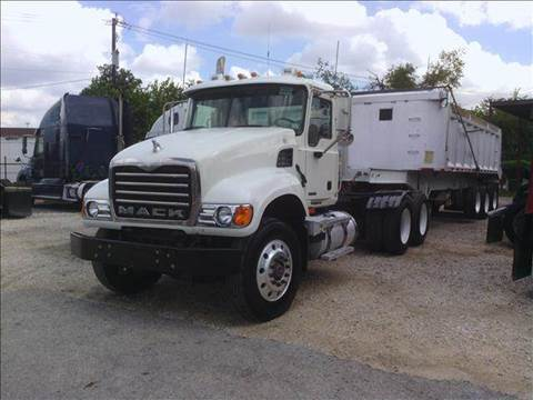 2005 Mack CV713 Granite for sale at JAG TRUCK SALES in Houston TX