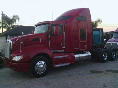 2008 Kenworth T-660 for sale at JAG TRUCK SALES in Houston TX