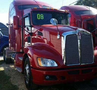 2009 Kenworth T-660 for sale at JAG TRUCK SALES in Houston TX