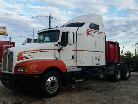 2007 Kenworth T-600 for sale at JAG TRUCK SALES in Houston TX