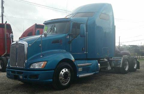 2010 Kenworth T 660 for sale at JAG TRUCK SALES in Houston TX