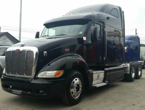 2008 Peterbilt 387 for sale at JAG TRUCK SALES in Houston TX