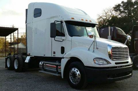 2007 Freightliner Columbia for sale at JAG TRUCK SALES in Houston TX
