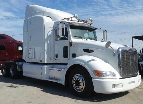 2008 Peterbilt 386 for sale at JAG TRUCK SALES in Houston TX