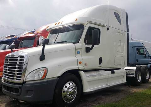 2012 Freightliner Cascadia for sale at JAG TRUCK SALES in Houston TX