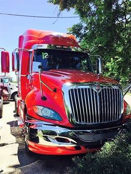 2012 International ProStar+ for sale at JAG TRUCK SALES in Houston TX