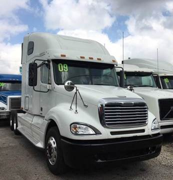 2009 Freightliner Columbia for sale at JAG TRUCK SALES in Houston TX