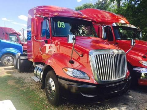 2009 International ProStar for sale at JAG TRUCK SALES in Houston TX