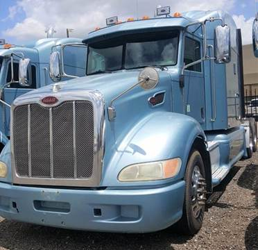 2010 Peterbilt 386 for sale at JAG TRUCK SALES in Houston TX