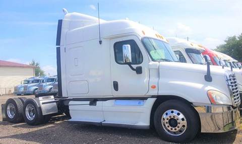 2011 Freightliner Cascadia for sale at JAG TRUCK SALES in Houston TX