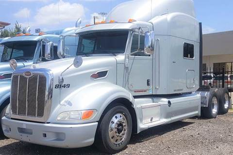 2012 Peterbilt 386 for sale at JAG TRUCK SALES in Houston TX