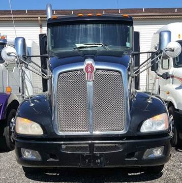 2012 Kenworth T660 for sale at JAG TRUCK SALES in Houston TX