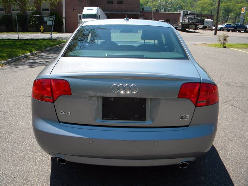 2008 Audi A4 AWD 3.2 quattro 4dr Sedan (3.1L V6 6M) - Derby CT