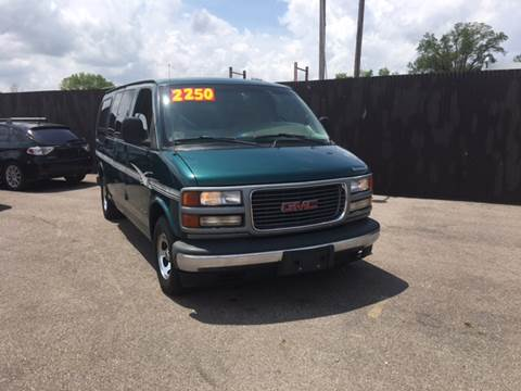 1999 GMC Savana Passenger For Sale In Trotwood OH