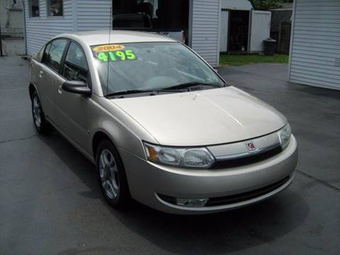 2004 Saturn Ion for sale at D & P AUTO SALES in New Brighton PA