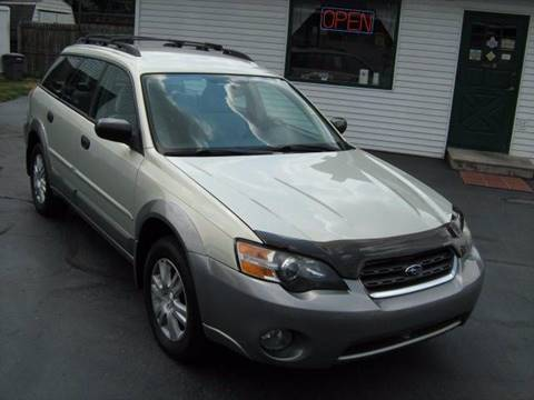 2005 Subaru Outback for sale at D & P AUTO SALES in New Brighton PA