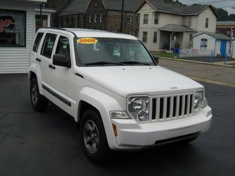 2008 Jeep Liberty for sale at D & P AUTO SALES in New Brighton PA