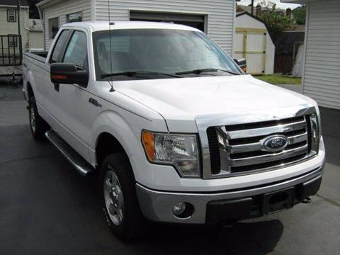 2010 Ford F-150 for sale at D & P AUTO SALES in New Brighton PA