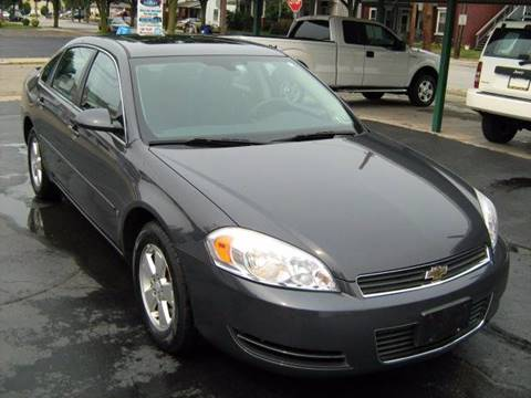 2008 Chevrolet Impala for sale at D & P AUTO SALES in New Brighton PA