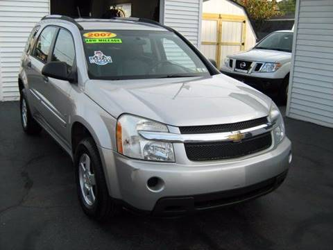 2007 Chevrolet Equinox for sale at D & P AUTO SALES in New Brighton PA