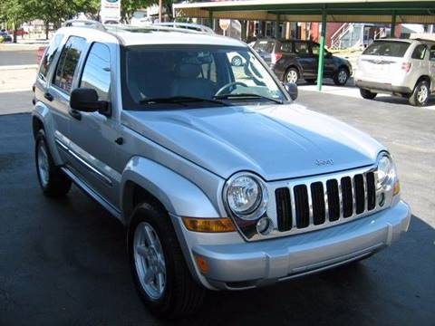 2005 Jeep Liberty for sale at D & P AUTO SALES in New Brighton PA