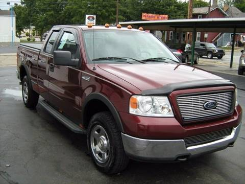 2005 Ford F-150 for sale at D & P AUTO SALES in New Brighton PA