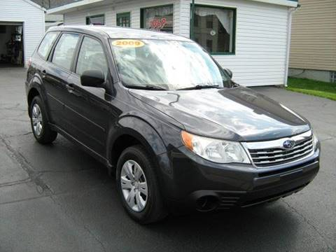 2009 Subaru Forester for sale at D & P AUTO SALES in New Brighton PA