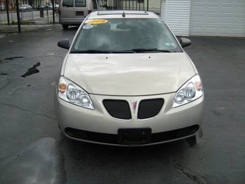 2009 Pontiac G6 for sale at D & P AUTO SALES in New Brighton PA