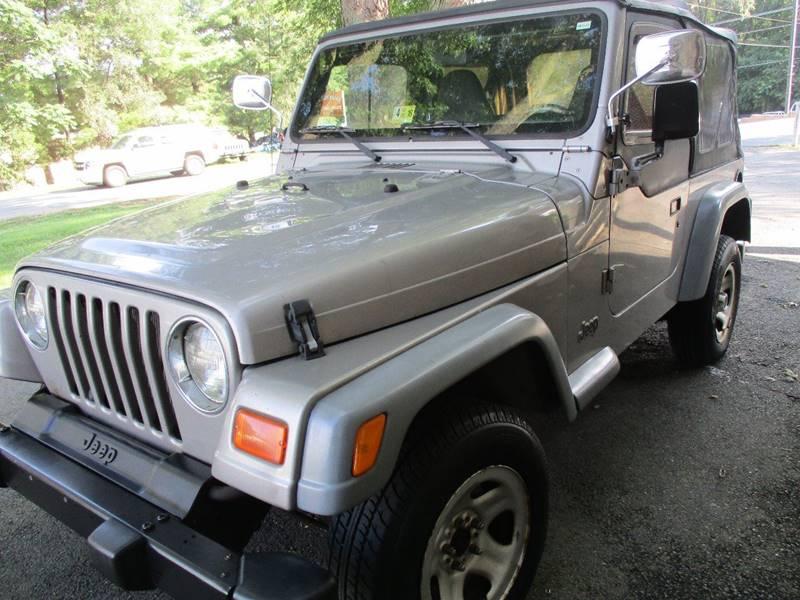 2001 Jeep Wrangler SE 4WD 2dr SUV - Leesburg VA