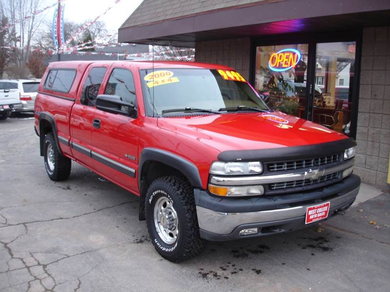 2000 chevy 2500 extended cab 4x4