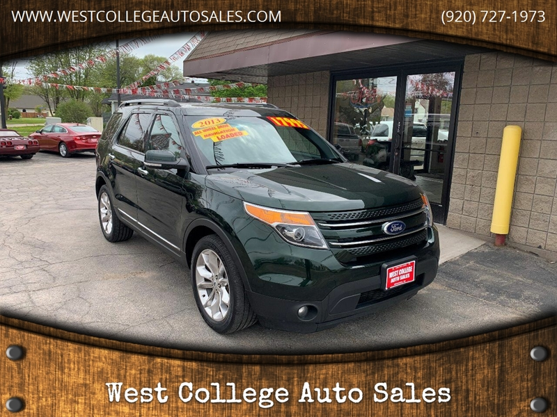 2013 Ford Explorer Awd Limited 4dr Suv In Menasha Wi West