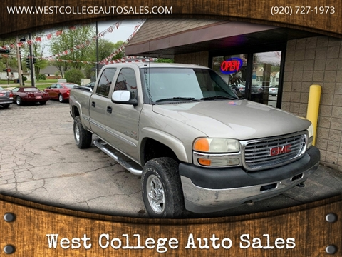2001 GMC Sierra 2500HD for sale in Menasha, WI