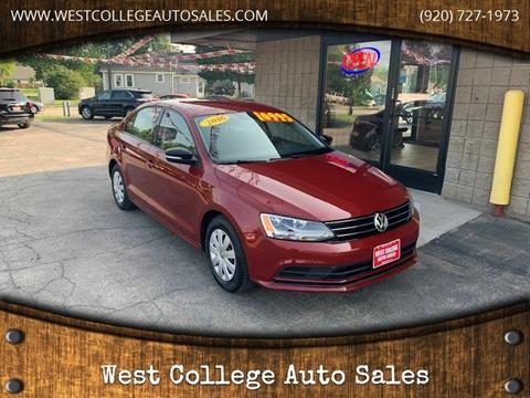 2016 Volkswagen Jetta for sale in Menasha, WI