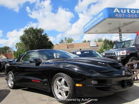 2002 Pontiac Firebird for sale in Orlando, FL