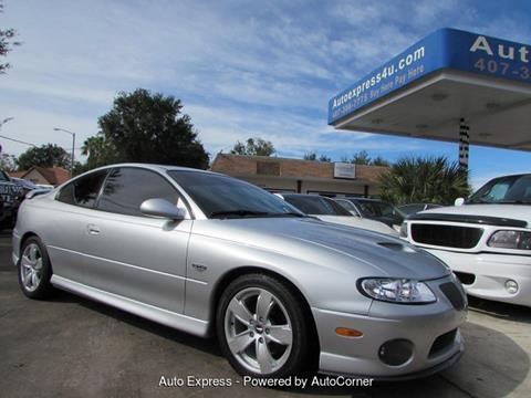 2005 Pontiac GTO for sale in Orlando, FL