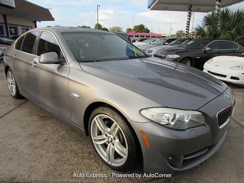 2013 BMW 5 Series For Sale In Orlando FL