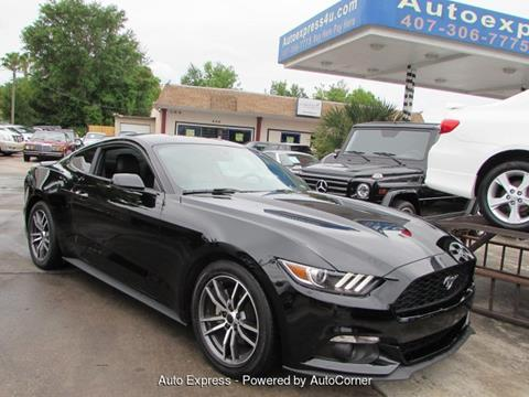 2017 Ford Mustang For Sale In Orlando FL