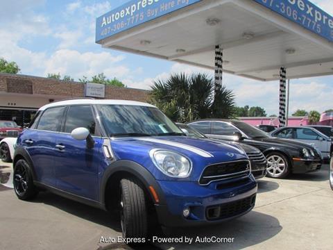 Mini Countryman For Sale In Orlando Fl Auto Express Enterprises Inc