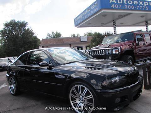 2003 BMW M3 For Sale In Orlando FL
